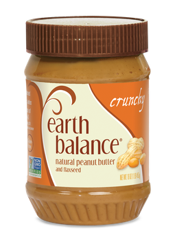 Earth Balance Natural Peanut Butter and Flaxseed Crunchy