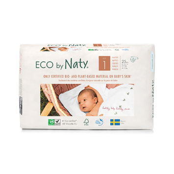 ECO by Naty® Size 1 Diapers