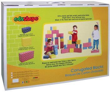 EduShape 709036 CORRUGATED BLOCKS - SET OF 36