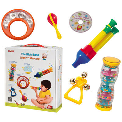 Edushape Hl9010 - The Kids Band Auditory With Easy Grip