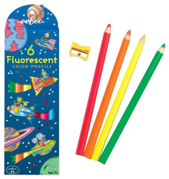 eeBoo Rocket Fluorescent Pencil