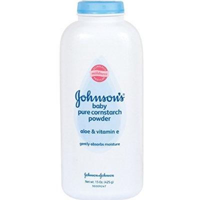 Johnson's® Baby Powder Pure Cornstarch with Aloe & Vitamin E