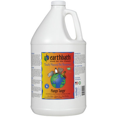 Earthwhile Endeavors Earthbath Mango Tango Pet Shampoo 1 gal