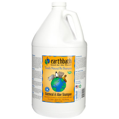Earthbath Oatmeal & Aloe Pet Shampoo (1-gallon jug)
