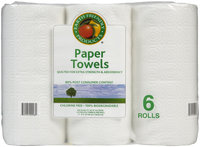 Earth Friendly Products Paper Towels, White - Jumbo Roll
