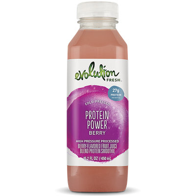 Evolution Fresh™ Protein Power Berry Fruit Juice Blend Protein Smoothie