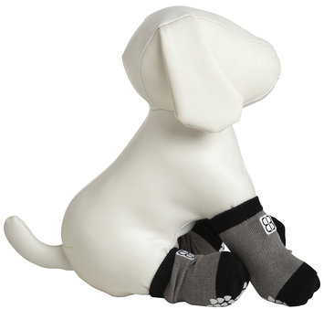 Pet Ego Home Comfort Traction Control Socks Gray, Size: XX-Large