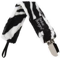 Z. Daisy Phoebe Zebra Binkie Bungee Pacifier Clip - 1 ct.