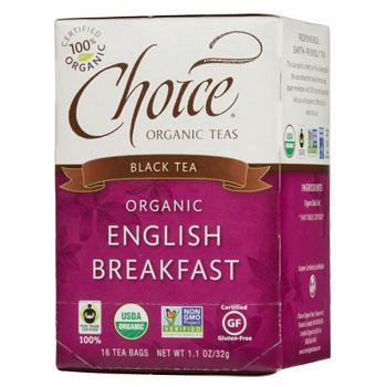 Choice Organic Teas English Breakfast Black Tea