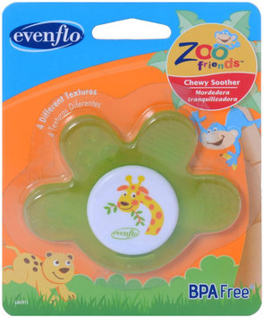 Evenflo Zoo Friends Chewy Soother, 1 ea