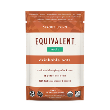 SPROUT LIVING EQUIVALENT™ Mocha Drinkable Oatmeal