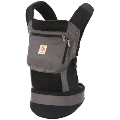 Ergo Baby Performance Baby Carrier Black/Charcoal Black / Charcoal