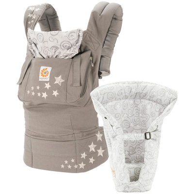 Ergo Baby Ergobaby Original Bundle of Joy Baby Carrier - Galaxy Grey