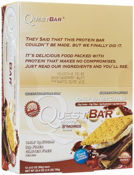 Quest Nutrition Protein Bars - S'Mores - 2.12 oz - 12 ct