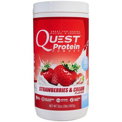Quest Nutrition Quest Protein Powder - Strawberries & Cream