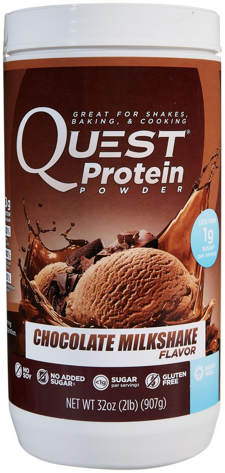 Quest Nutrition Quest Protein Powder - Chocolate Milkshake