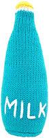 Estella Milk Bottle Hand-Knit Rattle (Blue/White) - 1 ct.