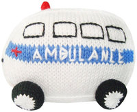 Estella Ambulance Hand-Knit Rattle - 1 ct.