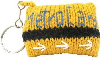Estella NY Metro Card Hand-Knit Keychain - 1 ct.