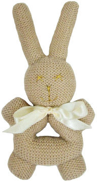 Estella Bunny Rattle With Handle - Beige - 1 ct.