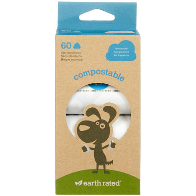 Earth Rated Compostable Pet Poop Bags (2-pack)