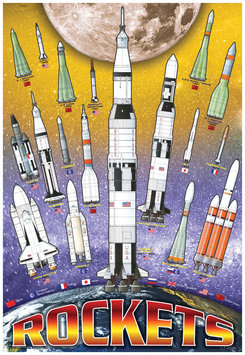 EuroGraphics Puzzles 6001-1015 International Rockets 100