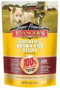 Evangers All Life Stages Dog Food - Chicken & Brown Rice
