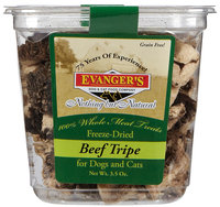 Evangers Freeze Dried Treats - Beef Tripe - 3.5 oz