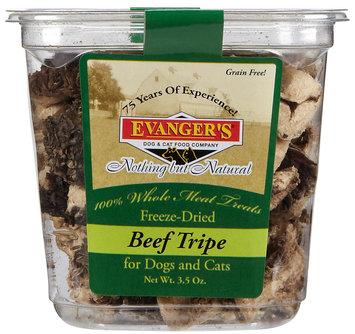 Evangers Freeze Dried Treats - Beef Tripe - 3.5 oz