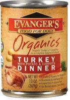 Evangers Organic - Turkey & Potato - 12x13.2 oz