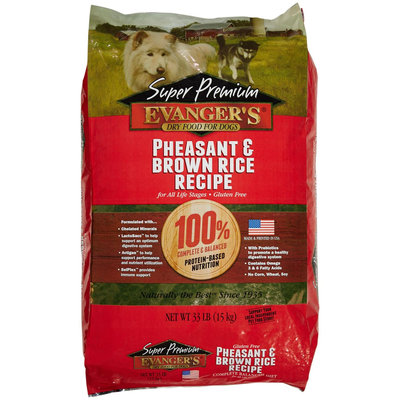 Evangers Pheasant Adult Dry Dog Food 33lb