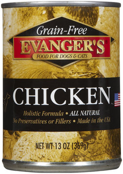 Evangers Grain-Free Chicken for Dogs & Cats - 12 x 22 oz