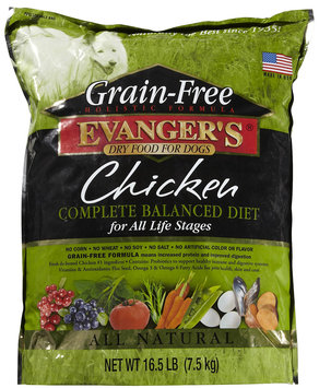 Evangers Evanger's Grain Free Chicken Adult Dog Food - 16.5 lb