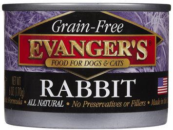 Evangers Evanger's Grain Free Rabbit - 24x6 oz