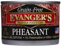 Evangers Evanger's Grain Free Pheasant - 24x6 oz