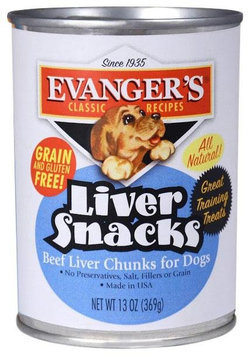 Evangers Evanger's Classic Liver Snacks - 12x13 oz