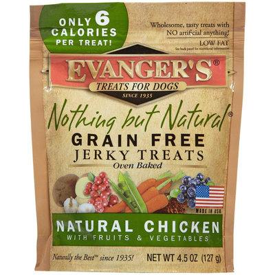 Evangers Evanger's Nothing But Natural Organic Chicken, Fruit & Vegetable Jerky - 4.5 oz