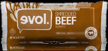 Evol Shredded Beef Burrito