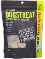 Dog for Dog DOGSTREAT Peanut Butter Dog Treats