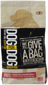 DOG for DOG DOGSFOOD - Grain Free with Ocean Fish & Salmon Meals