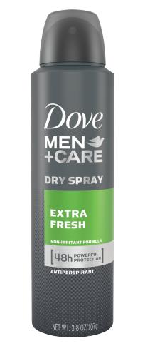 Dove Men+Care Extra Fresh Dry Spray Antiperspirant