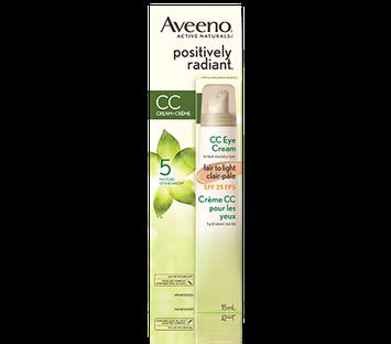 Aveeno®  Positively Radiant CC Eye Cream SPF25
