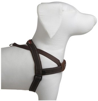 EzyDog Quick Fit Harness Chocolate Extra Large
