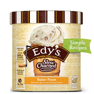 Edy's Slow Churned Butter Pecan