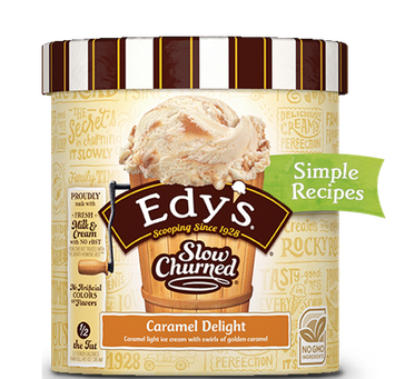 Edy's Slow Churned Caramel Delight