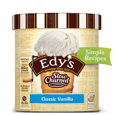 Edy's Slow Churned Classic Vanilla
