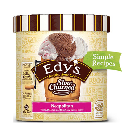 Edy's Slow Churned Neapolitan