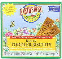 Earth's Best Organic® Barley Toddler Biscuits