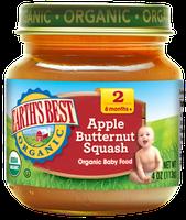 Earth's Best Organic® Apple Butternut Squash Baby Food