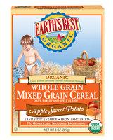 Earth's Best Organic® Apple Sweet Potato Mixed Grain Cereal